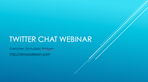 Twitter Chat Webinar Cover Image