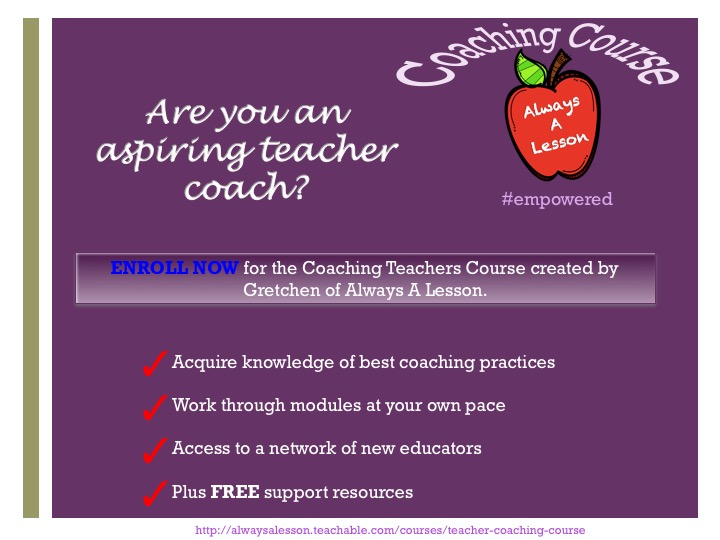 coaching course advertisement