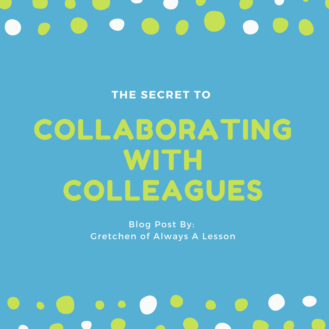 Secret to Collabo with Colleagues