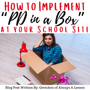 How to Implement Professional Development in a box
