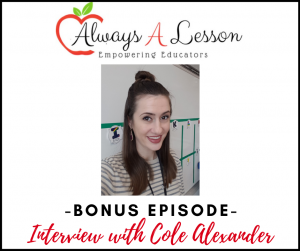 Interview with Cole Alexander