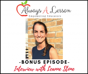 Interview with Leanne Stone