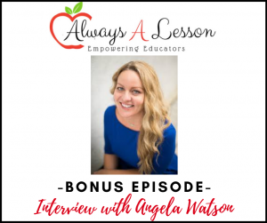 Interview with Angela Watson