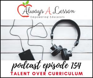 talent over curriculum