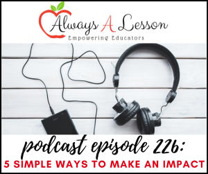 5 simple ways to make an impact