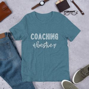 Coaching Bestie Teacher T-Shirt