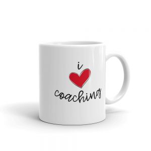 I Love Coaching Coffee Mug