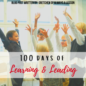 100 days of learning & leading