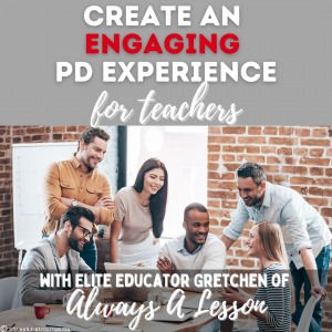 Engaging PD Experience