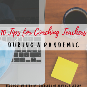 tips for coaching teachers during a pandemic