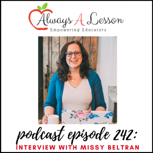 interview with missy beltran