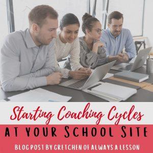Starting Coaching Cycles